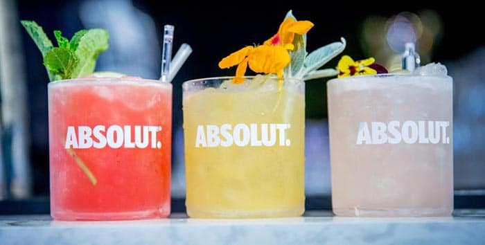 Absolut vodka vodka cocktails for spring cooks with for Good cocktails with vodka