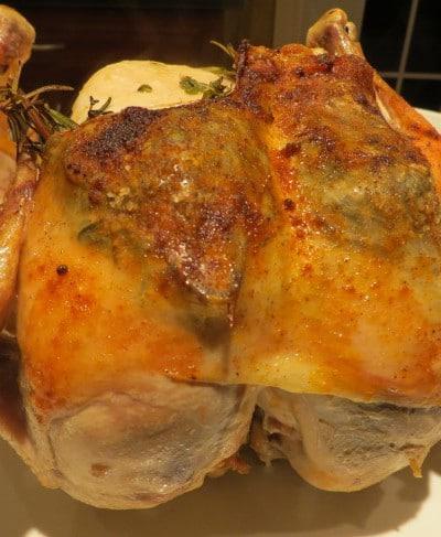 Lemon and Garlic Roast Chicken