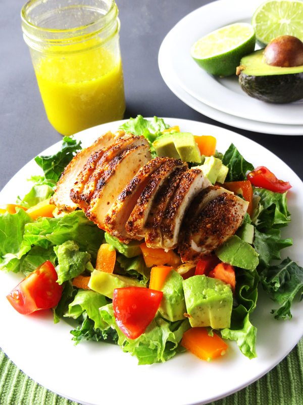 Chicken and Avocado Salad | 21 Homemade Healthy Chicken Recipes | Homemade Recipes