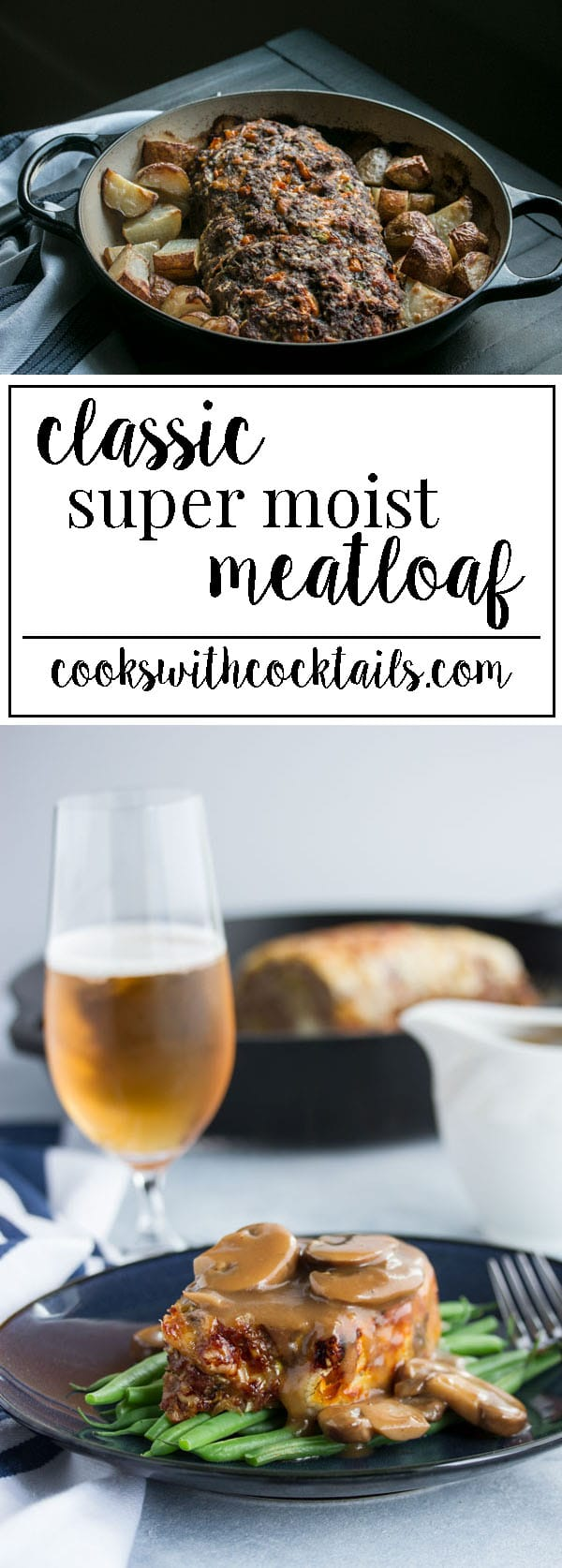 A classic easy meatloaf recipe with tons of veggies like peppers and zucchini, and a good amount of cheese that's quick and easy enough for weeknight dinner but tasty enough to serve to guests.  Could even be made into meatloaf muffins. #meatloaf #comfortfood #beefmeatloaf #meatloafrecipe