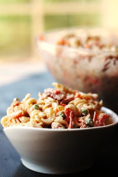 Our Favorite Macaroni Salad (gluten free)