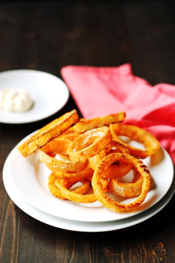 The Ultimate Crispy Baked Gluten Free Onion Rings
