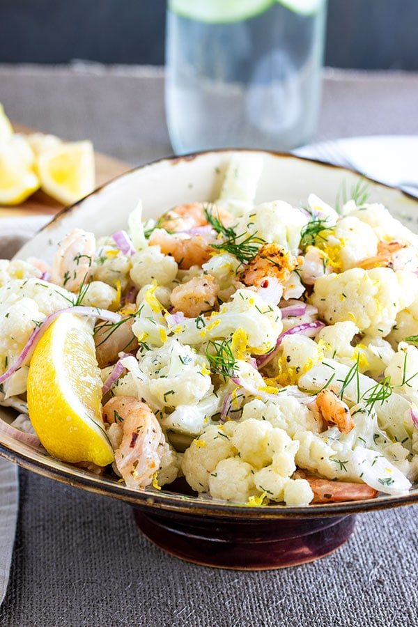 Shrimp Salad Sandwich With Dill