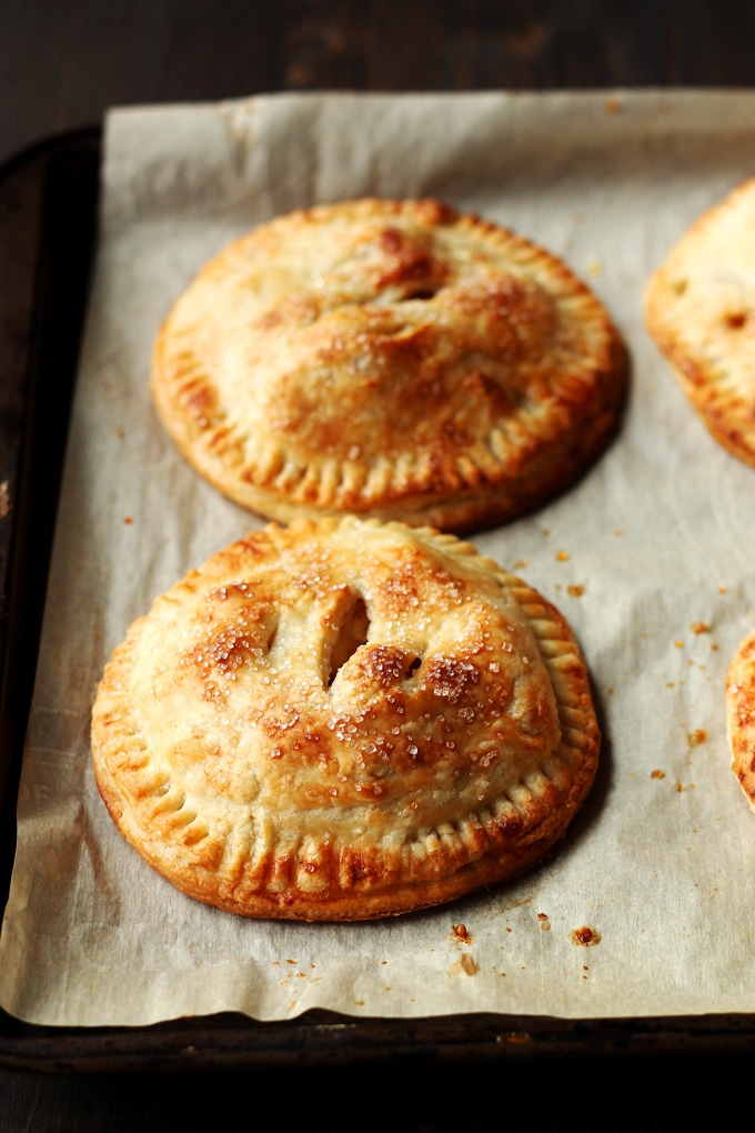 Mini Caramel Apple Hand Pies