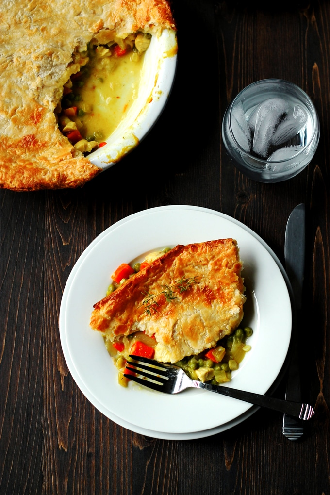 recipe for chicken pot pie