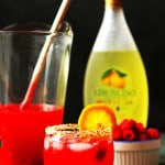 Raspberry Limonchello Lemonade