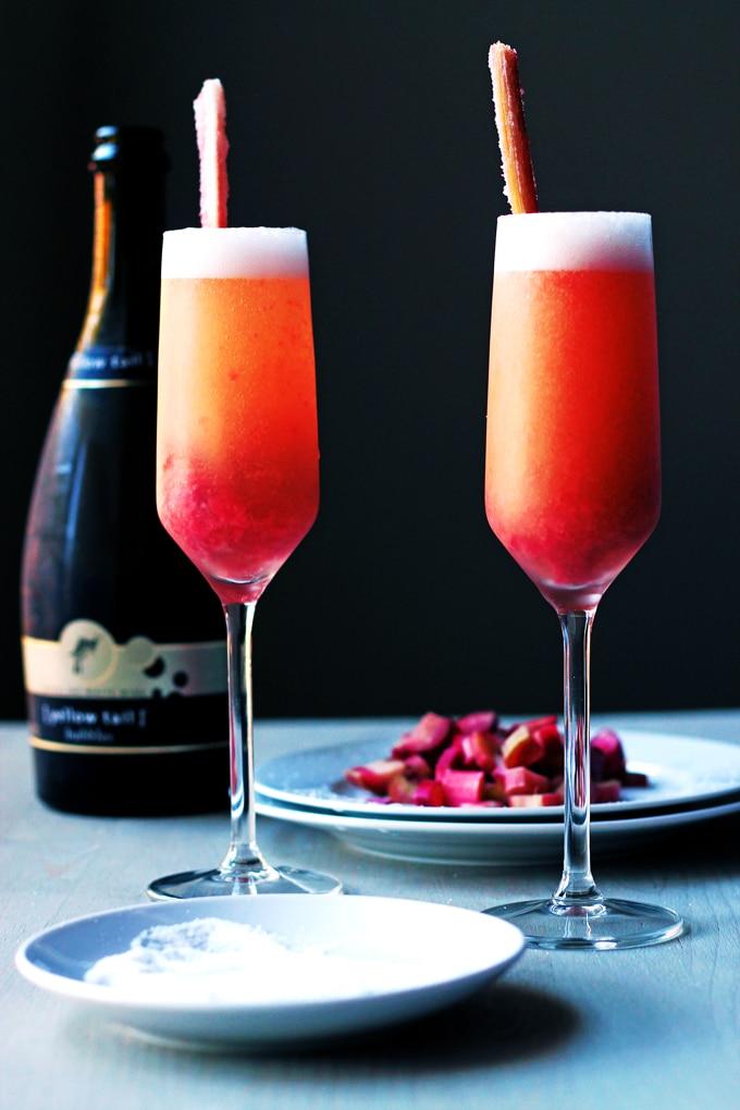 Rhubarb Belini