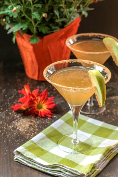 Apple Cinnamon Pie Martini
