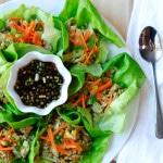 Gyoza Lettuce Wraps