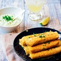 Chicken Taquitos with Avocado Ranch Dip