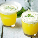Passionfruit and Lime Margarita on the Rocks