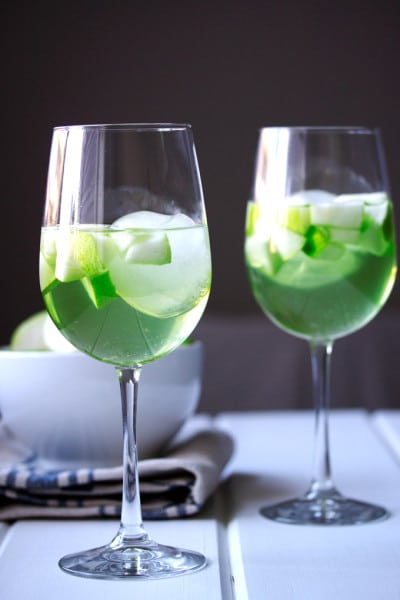 Apple and Pear Green Sangria