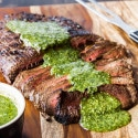Marinated Flank Steak with Chimichuri