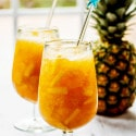 Citrus Tea Slush with Pineapple & Rum