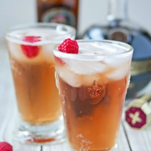 Chambord & Ginger Beer Cocktail