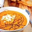 Roasted Tomato Soup ~ A Quick and Healthy Way to Curb that Tomato Soup Craving