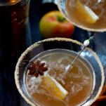 Apple Cider Caramel Martini
