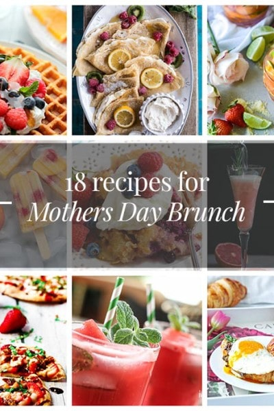 Mothers Day Brunch Menu