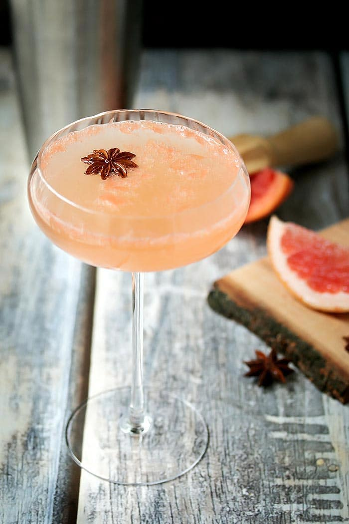 Silk Road - A Grapefruit Martini