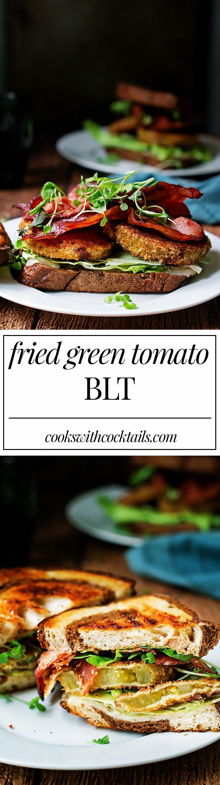Fried Green Tomato BLT