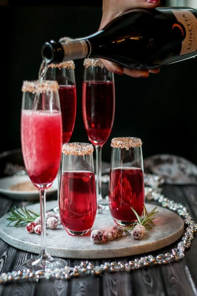 Holiday Cranberry Mimosa Recipe