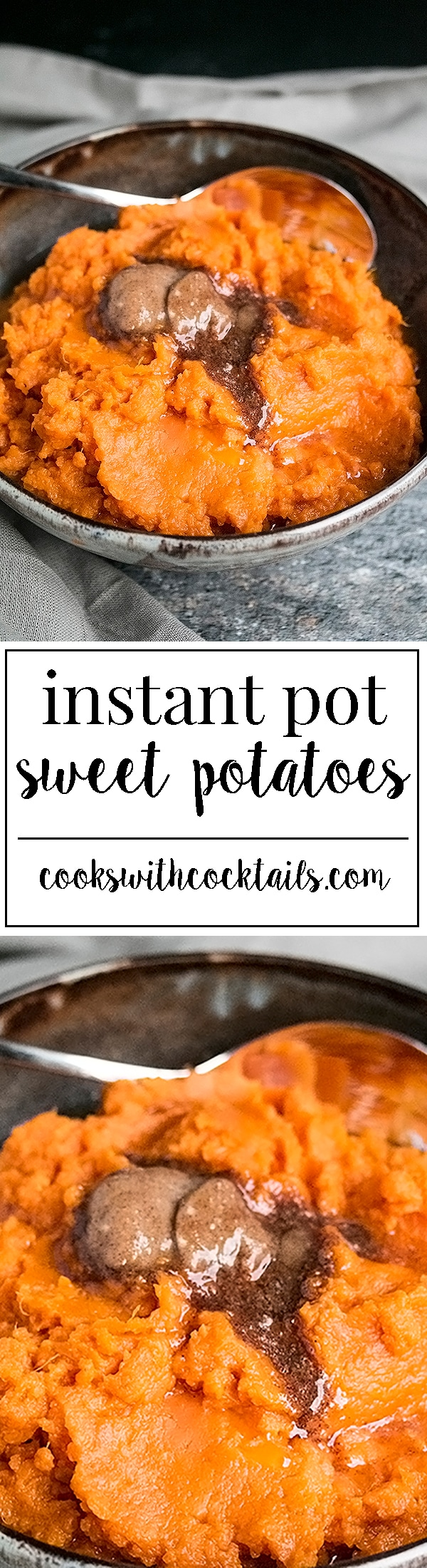 Instant pot sweet potatoes are a incredibly easy, healthy, colorful and delicious addition to any holiday meal or any meal for that matter. #instantpotrecipes #sweetpotatoes