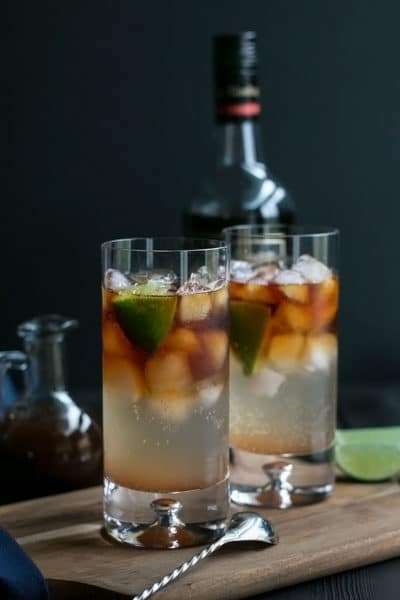 Dark and Stormy Cocktail ~ an Extraordinary Rum and Ginger Beer Drink