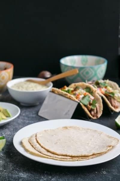 Homemade Corn Tortillas (Gluten Free) ~ & the Best Tortilla Press