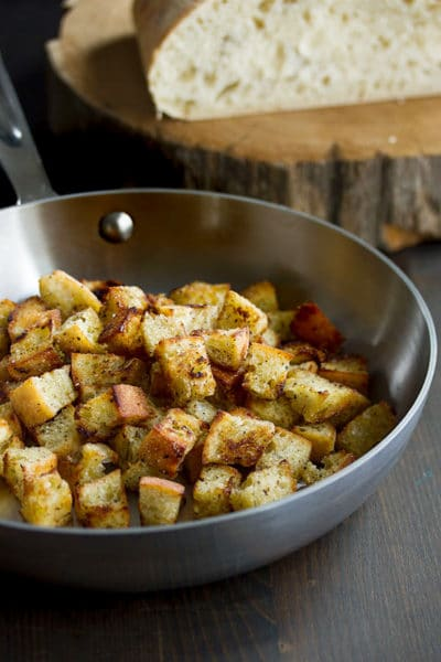 How to Make Homemade Croutons ~ So Easy & Good That You Will Never Buy Them Again