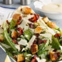 Grilled Caesar Salad with Homemade Caesar Dressing
