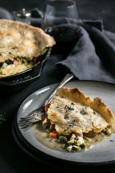 Healthy Chicken Pot Pie Recipe – Lightened up and Dairy Free