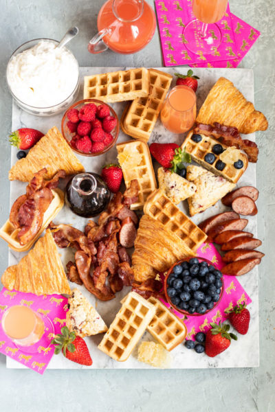 Ultimate Guide to Create a Beautiful Brunch Grazing Platter