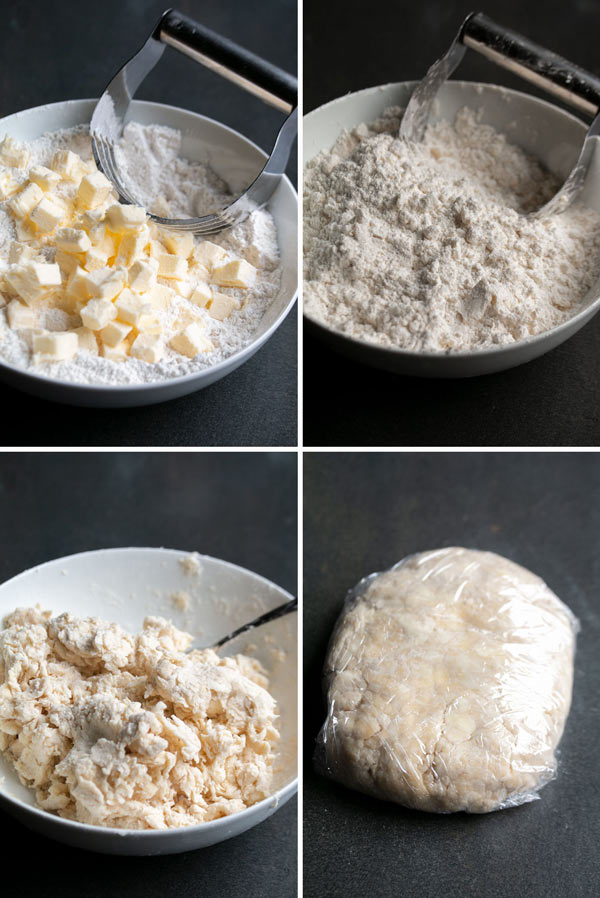 photos showing how to make pie crust pastry