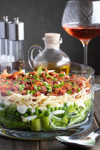 Seven Layer Salad (Make Ahead!)