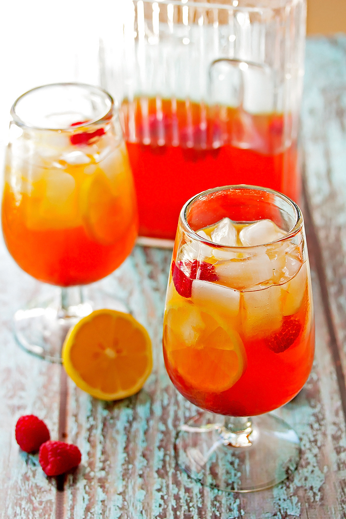 Raspberry Hard Iced Tea