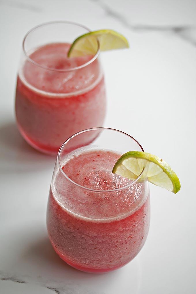 Sparkling Raspberry Margarita