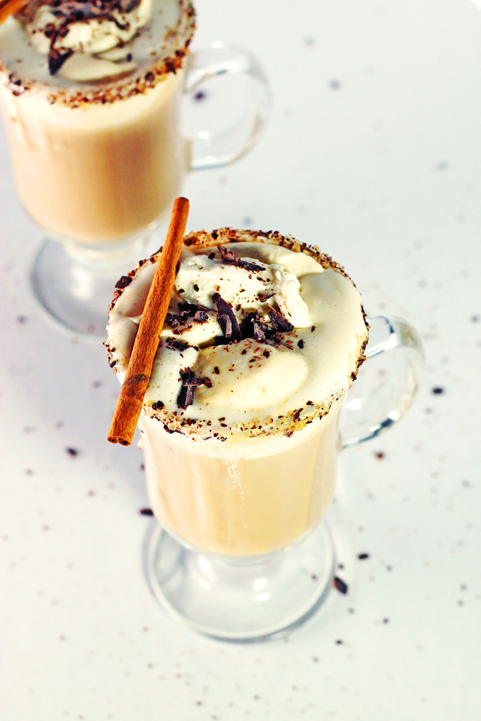 Vanilla Cinnamon Frangelico Coffee Drink