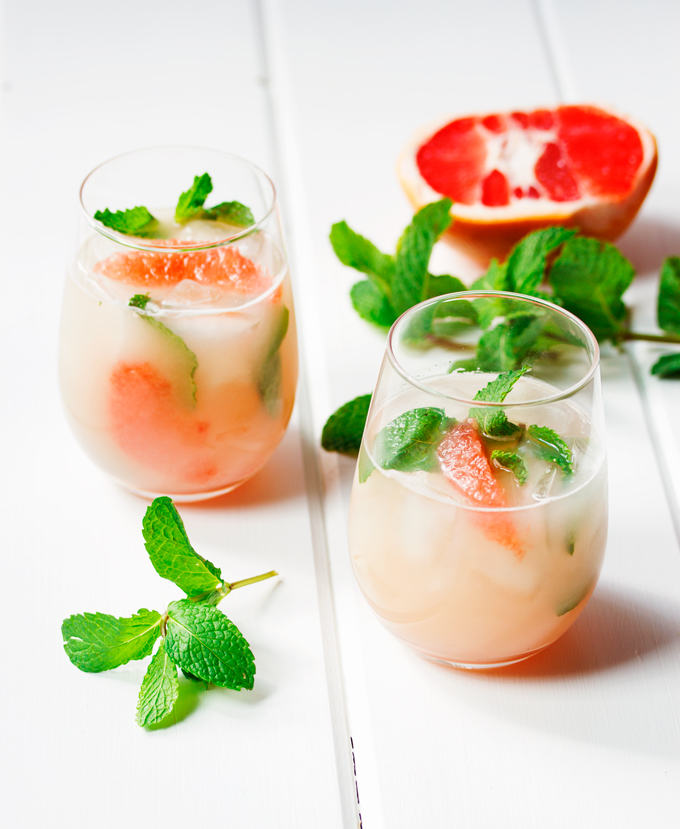 Grapefruit and Vodka