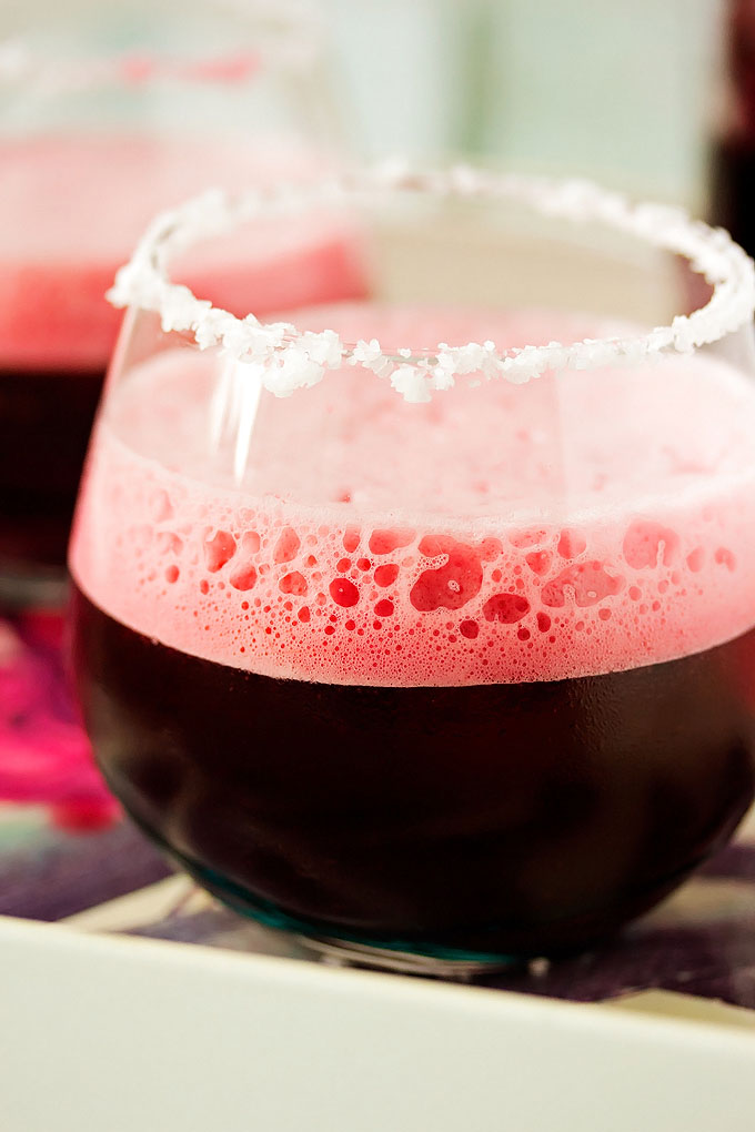 Hibiscus Infused Margarita