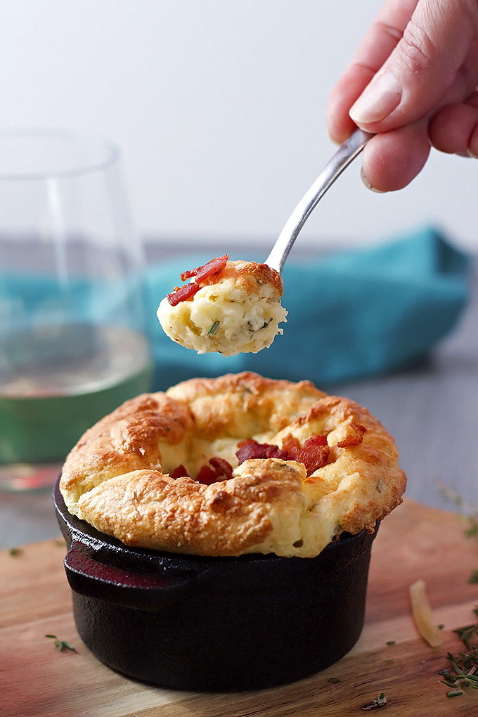Potato Souffle with Gruyere and Herbs (2)