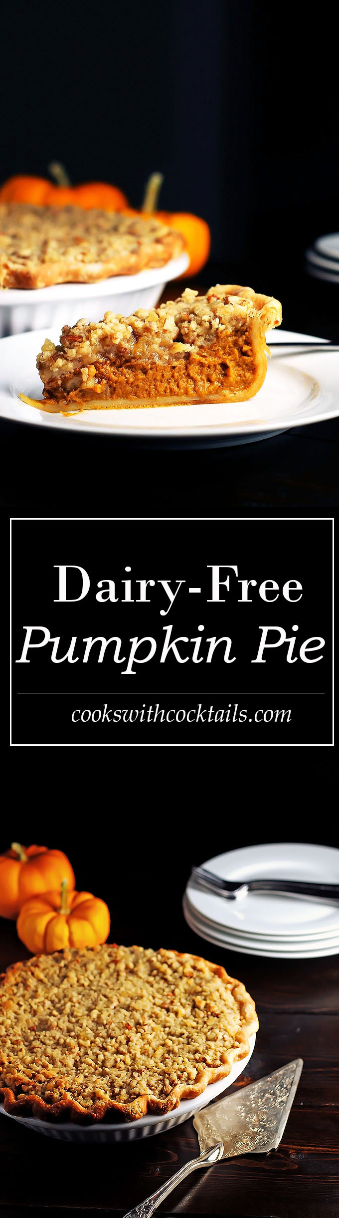 Perfect Pumpkin Spiced Pie with Streusel Topping