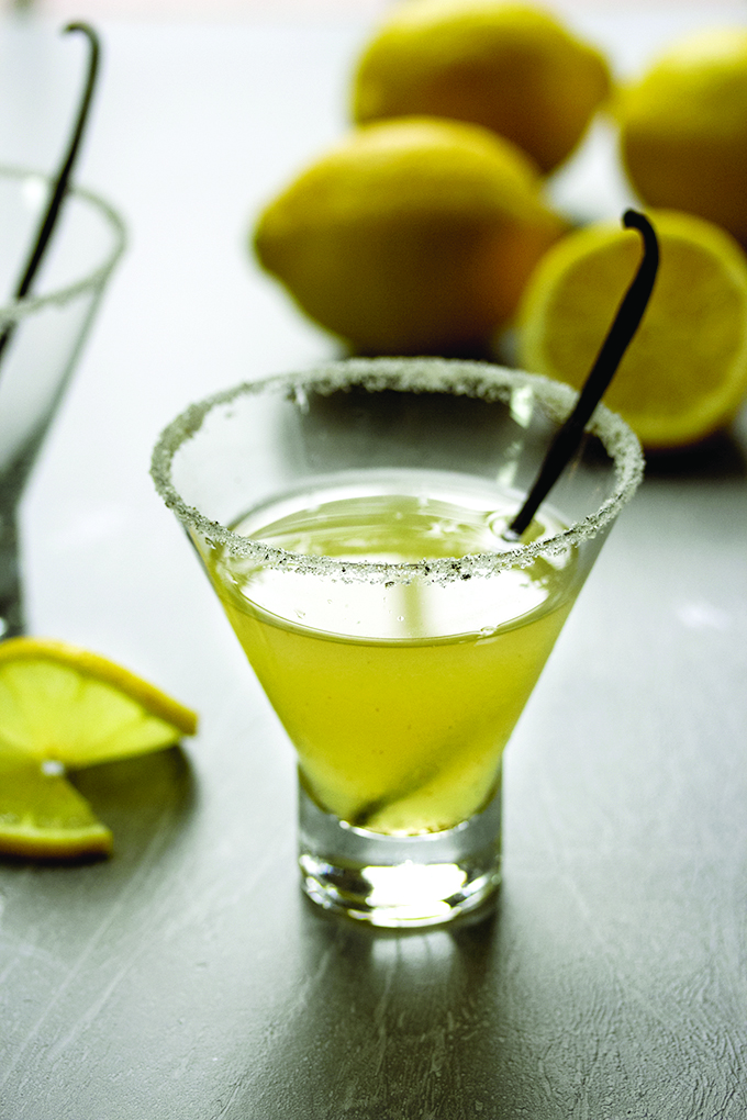 Vanilla & Meyer Lemon Martini